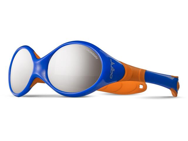 Julbo Baby Looping II Spectron 4 Sunglasses 12-24M Blue/Orange-Gray Flash Silver
